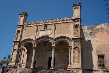 catena: Santa Maria della Catena in Piazzetta delle Dogane, Palermo. Sicily. Italy.