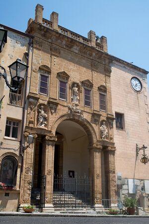 catena: La chiesa di Maria Santissima della Catena church of Cefalu, Sicily. Italy.