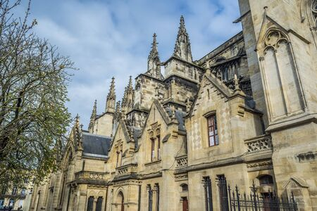 aquitaine: Cathedral of St. Andre.Saint Andre is a gothic cathedral of Bordeaux, the capital of Aquitaine. France.