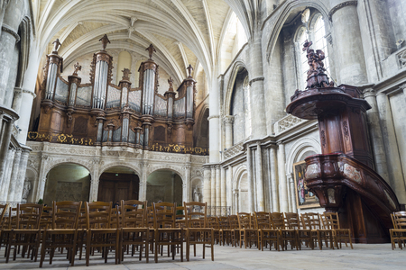 pipe organ: The pipe organ in Cathedral of St. Andre.Saint Andre is a gothic cathedral of Bordeaux, the capital of Aquitaine. France.