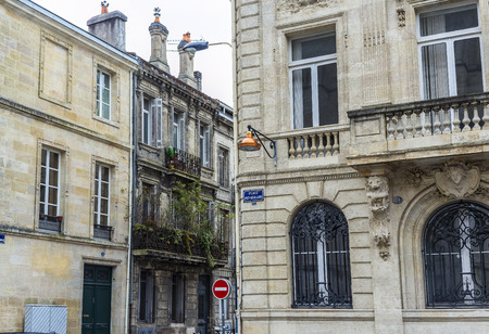 aquitaine: Place Pey-Berland square of Bordeaux, Aquitaine. France. Editorial
