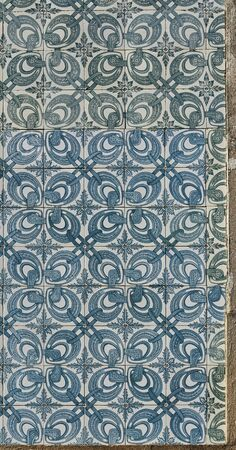 tiled wall: A tiled wall background in the downtown of Evora. Portugal.