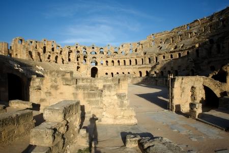 El Djem, anfiteatro romano pi� grande anfiteatro in africa a El Djam, Tunisia