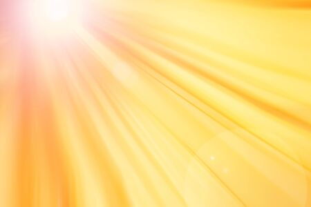 Abstract lines with lens flare background   Abstract orange, yellow lines spreading from left to the right with lens flare background  photo