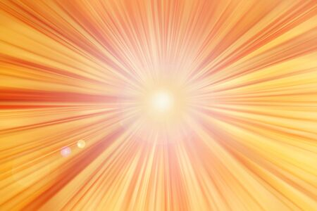 Abstract spot lines background   Abstract orange lines going in to center with lens flare background  photo