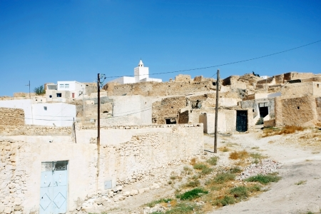 depends: Village Tamezret in Tunisia Tamezret is a Tunisian Berber village located southeast of the country, about ten kilometers from Matmata and forty kilometers southwest of the capital of the governorate of Gabes which it depends