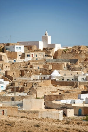 Village Tamezret in Tunisia Tamezret is a Tunisian Berber village located southeast of the country, about ten kilometers from Matmata and forty kilometers southwest of the capital of the governorate of Gabes which it depends