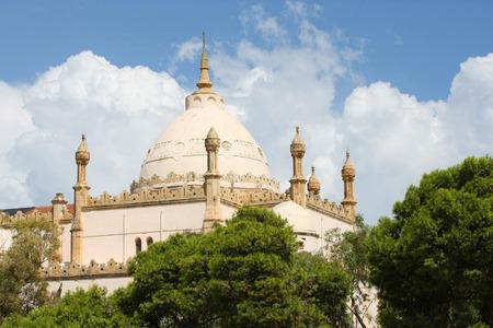 Cattedrale di Saint-Louis di Cartagine si trova a Cartagine, Tunisi, Tunisia Si tratta di una vecchia cattedrale cattolica romana situato nei pressi del Museo Nazionale di Cartagine sulla collina di Byrsa Archivio Fotografico