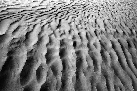 Texture di sabbia nel deserto del Sahara in Tunisia