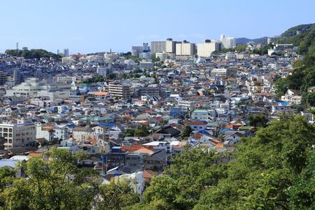 suburbs: suburbs of kobe city Stock Photo