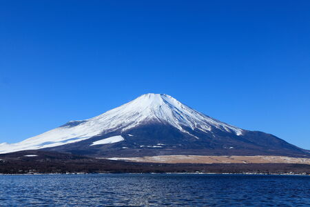 catchphrases: mt fuji and blue sky Stock Photo