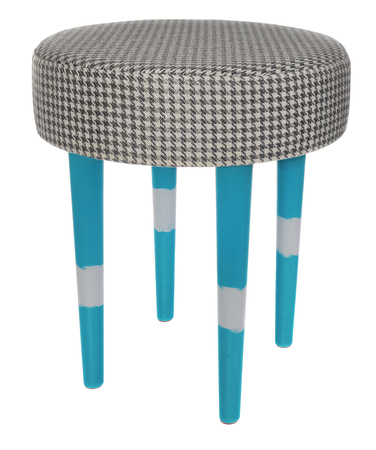 Hand Made Stool. Hand Painted Wooden Legs Of Chair In Blue White.. Stock Photo Picture And Royalty Free Image. Image 85511347.  sc 1 st  123RF Stock Photos & Hand Made Stool. Hand Painted Wooden Legs Of Chair In Blue White ... islam-shia.org