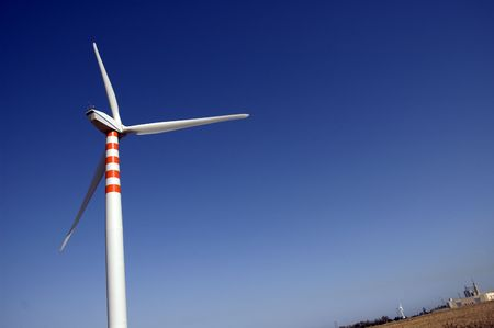Wind power generator Stock Photo - 3886501