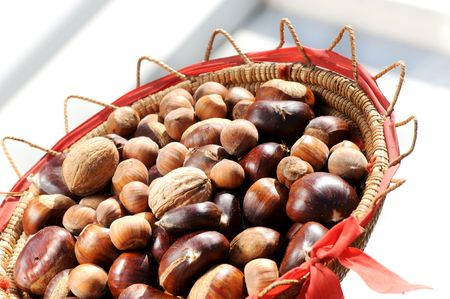 general nuts collected together  Stock Photo - 5973315