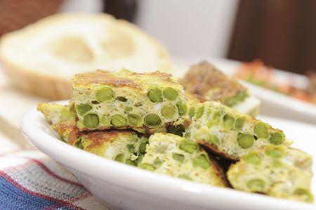 İtalyan mutfağı: Home made italian cuisine served in a farm holidays Stok Fotoğraf