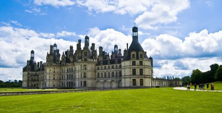 chambord: chambord chateau in france Stock Photo