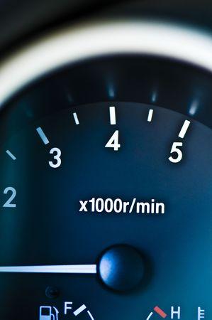 min: rpm meter