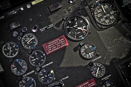 stumentazione helicopter Stock Photo - 13175715