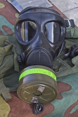 radiological: gas mask