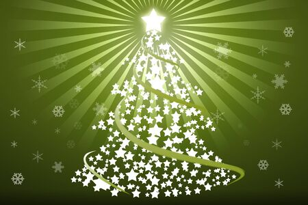 recurrence: Christmas background with Christmas Tree