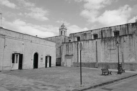 プーリア州のイタリアの歴史的なセンター