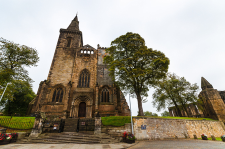 robert bruce: The Dunfermline Abbey Fife Scotland