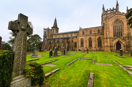 robert bruce: The Dunfermline Abbey Fife Scotland