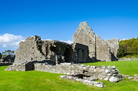 dumfries and galloway: Ruins of the Abbey Glenluce Scotland