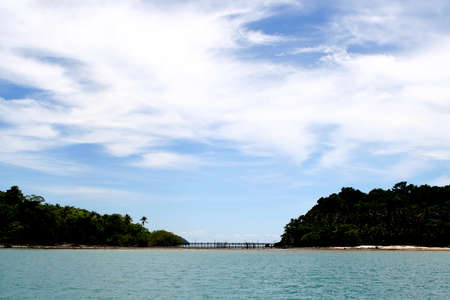 Sea Koh Chang in Thailand photo