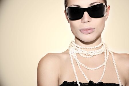 Beautiful stylish girl Stock Photo - 4627963