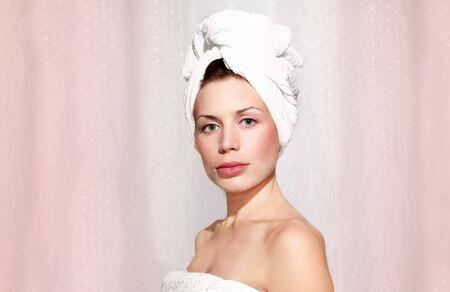 beutiful woman taking shower. Stock Photo - 5137020