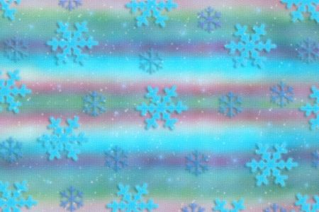 cold holiday background with a beautiful snowflakes.  photo