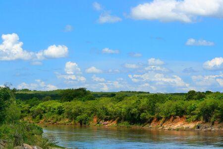 mara: Mara River. Africa. Kenya. Masai Mara