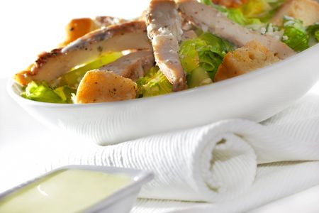 chicken caesar salad: Fresh Chicken Caesar salad
