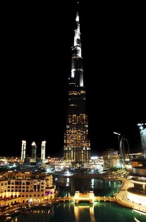 Tallest tower ever made. Dubai downtown. Burj Dubai (Burj Khalifa)