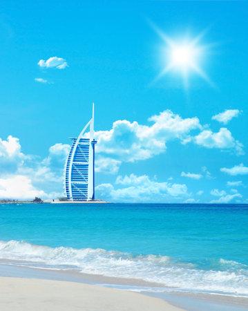 Dubais famous Burj al Arab hotel