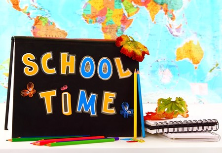 School time conceptual image of education & knowledge photo