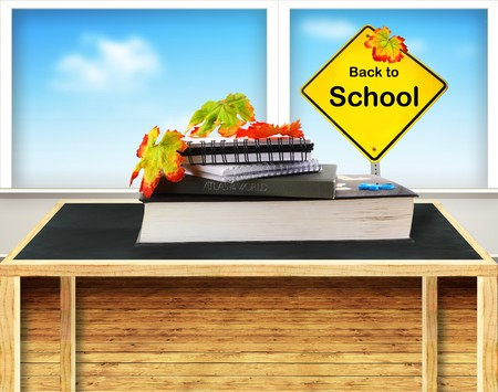 Back to school conceptual image of education & knowledge Stock Photo - 7585602