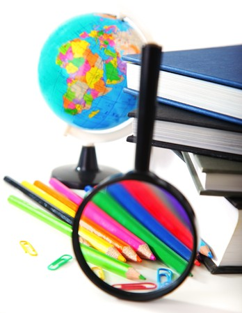 Study time conceptual image of education & knowledge Stock Photo - 7585237