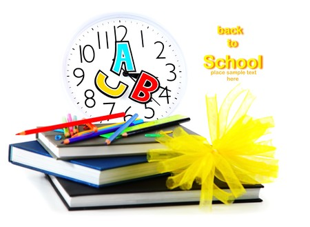 School time conceptual image of education & knowledge Stock Photo - 7610372