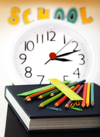 school time: School time conceptual image of education & knowledge