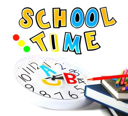 leerboek: Terug naar school conceptuele afbeelding van onderwijs & kennis  Stockfoto