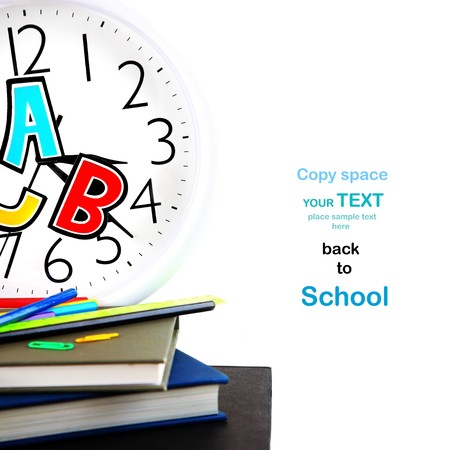 Study time conceptual image of education & knowledge Stock Photo - 7610380