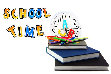 School time conceptual image of education & knowledge Stock Photo - 7610377