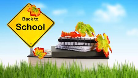 Back to school conceptual image of education & knowledge photo