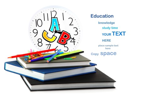 Study time conceptual image of education & knowledge Stock Photo - 7664982