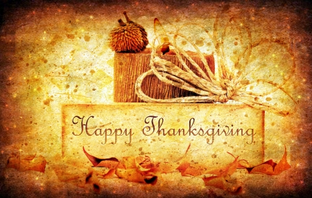 thanksgiving: Thanksgiving holiday background with candle & dreamy stars Stock Photo