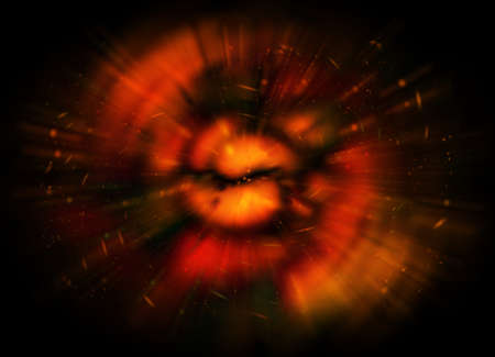 Space galaxy background with stars dust explosion  photo