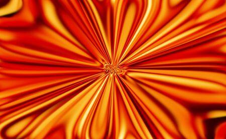 warm colors: C�lido fondo de luces brillantes de vacaciones con patr�n de forma de flor roja Foto de archivo