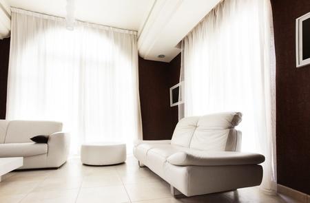 Luxury apartment with stylish modern interior design Stock Photo - 9359145